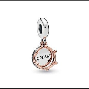 Pandora Rose Queen & Regal Crown Charm 👑